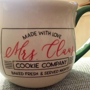 Mrs Claus Cookie Mug